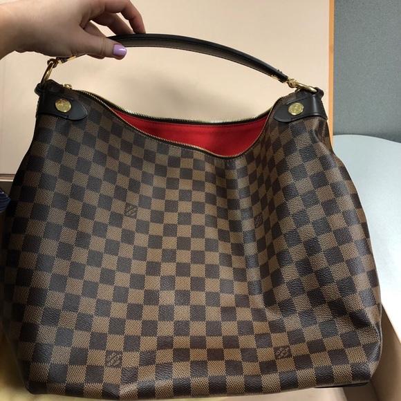 4699592b63806 Louis Vuitton Handbags - Louis Vuitton Duomo Hobo Damier Ebene